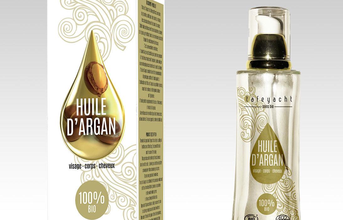 Packaging Huile d'Argan