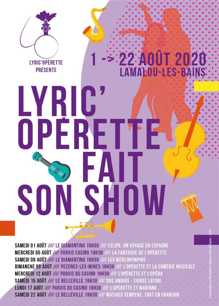 Concerts Lyric'Opérette